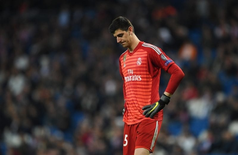 Agent Of Real Madrid Goalkeeper Thibaut Courtois Arrested